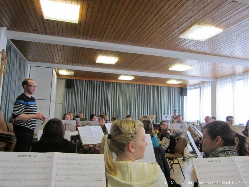 Konzertvorbereitung Probetag 2014